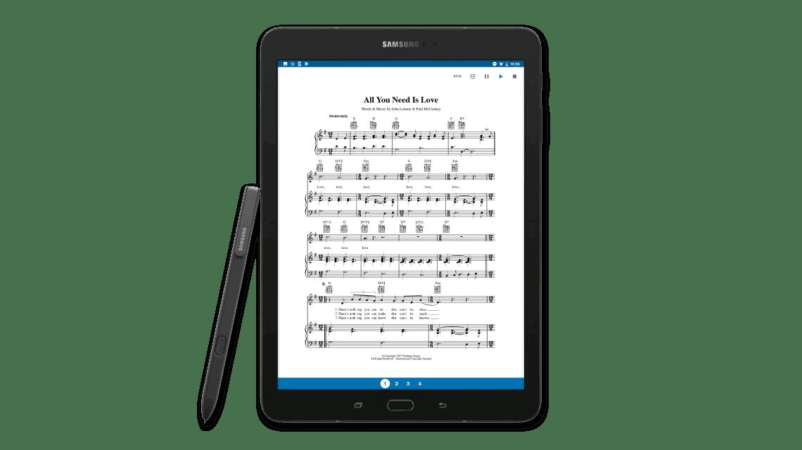Migliore Tablet per leggere spartiti musicali